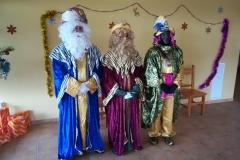 Reyes Magos en Rábano
